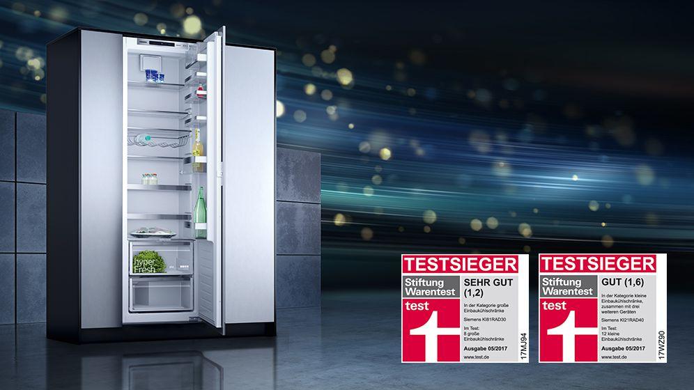Siemens Kühlschrank Gebraucht : Siemens testsieger weber hausgeräte ravensburg